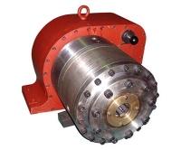 千米钻机后夹持器与减速器总成